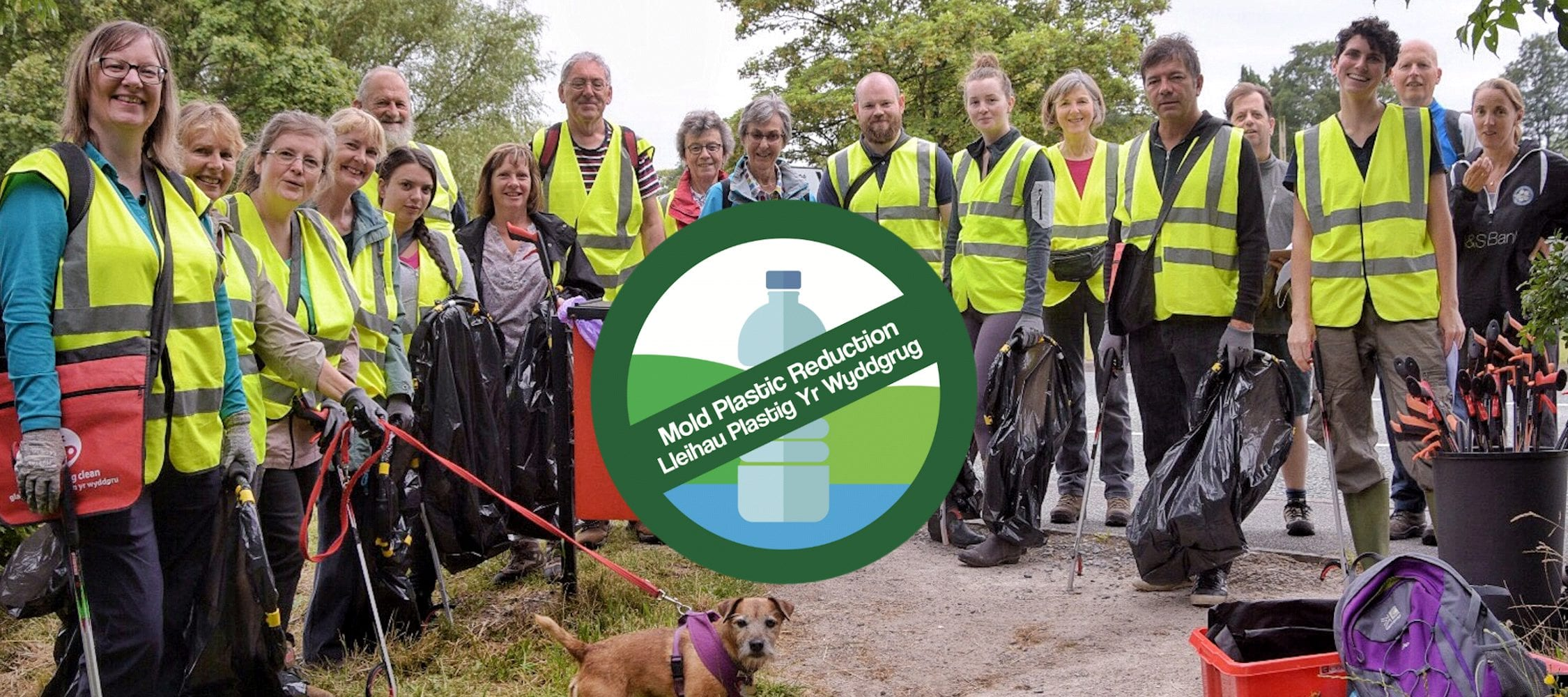 Hero image for Home page showing MPR supporters at a litter pick