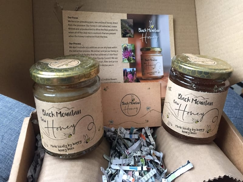Black Mountain Honey gift set - two jars