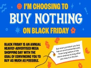 Image for Buy Nothing Day campaign