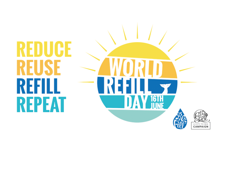 Poster promoting World Refill Day