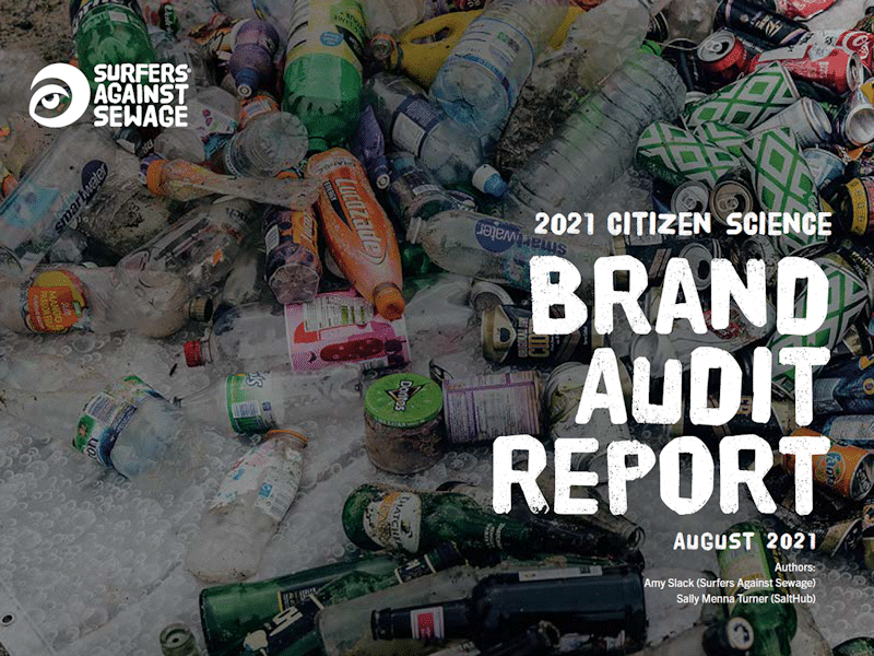Cover of SAS Brand Audit Report 2021
